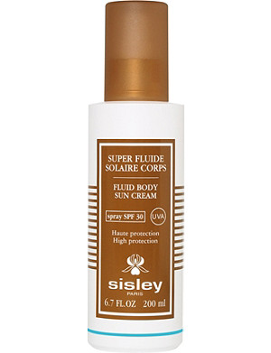 SISLEY Super Fluide Solaire fluid body sun cream SPF 30