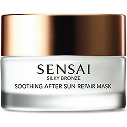 SENSAI BY KANEBO Silky Bronze soothing after-sun repair mask 60ml