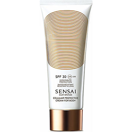 SENSAI BY KANEBO Silky Bronze Cellular protective spray for body SPF 30 150ml