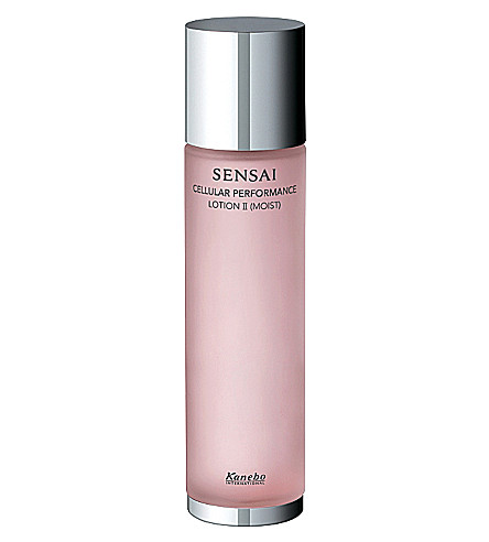 SENSAI BY KANEBO Lotion II (Moist) normal–to–dry or very dry skin