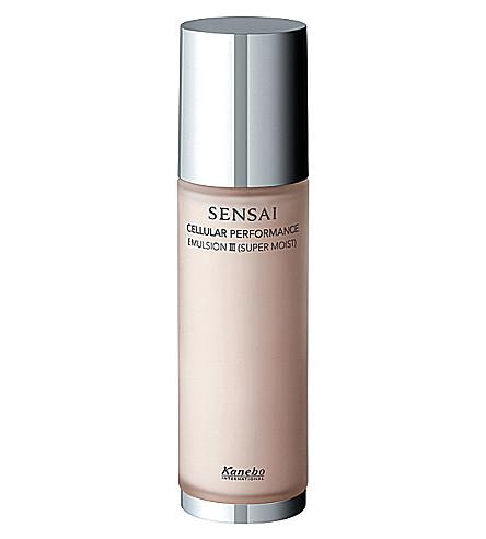 SENSAI BY KANEBO Emulsion III (Super Moist) dry/very dry skin
