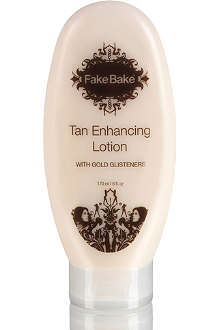 FAKE BAKE Tan Enhancing Lotion with Glisteners 170ml