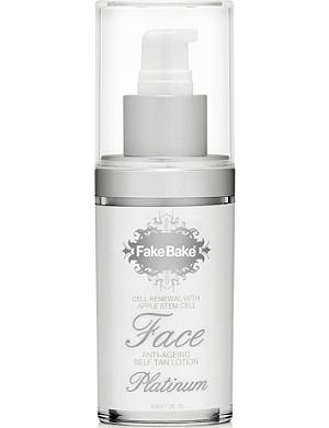 FAKE BAKE Platinum Face Self–Tan