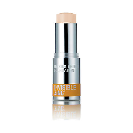 INVISIBLE ZINC UV Silk Shield foundation SPF 30+ – light