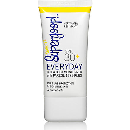 SUPERGOOP SPF 30+ Everyday Lotion for Face and Body 16oz