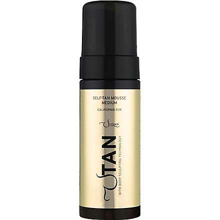UTAN California Sun medium self-tan mousse