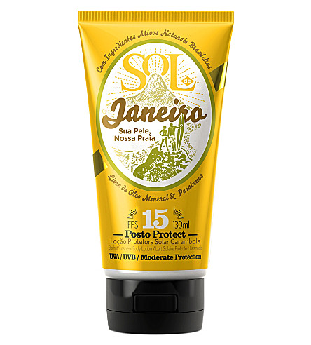 SOL DE JANEIRO Posto Protect Starfruit Sunscreen body lotion SPF 15