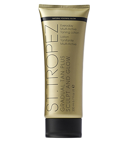 ST. TROPEZ Gradual Tan Plus Sculpt And Glow Body Lotion 200ml