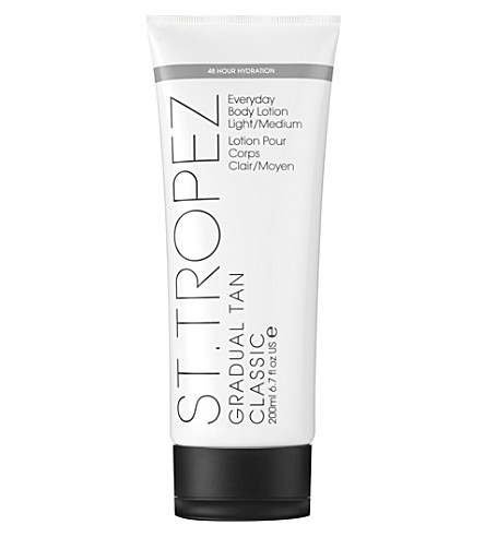 ST. TROPEZ Gradual tan classic body lotion light/medium 200ml