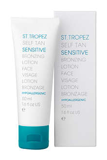 ST. TROPEZ Self Tan Sensitive Bronzing lotion - face
