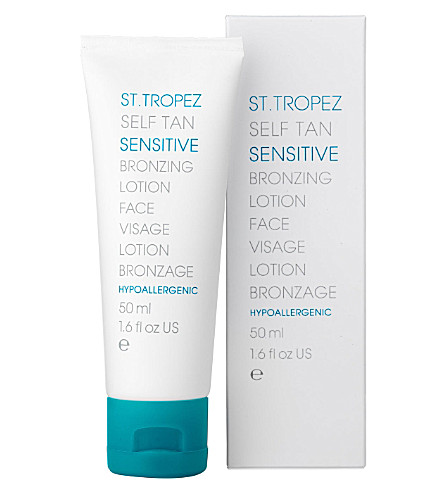 ST. TROPEZ Self Tan Sensitive Bronzing lotion - face 50ml