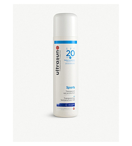 ULTRASUN Sports Gel SPF20 200ml