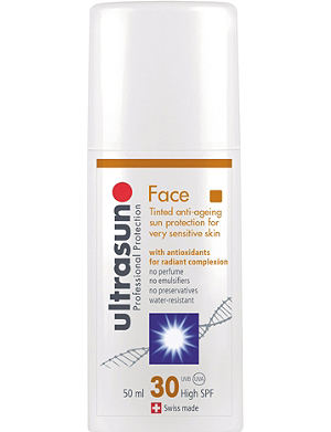 ULTRASUN Face SPF30 tinted 50ml
