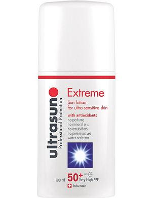 ULTRASUN Extreme 50+ sun lotion 100ml