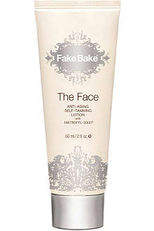 FAKE BAKE The Face anti-ageing self-tanning lotion 60ml