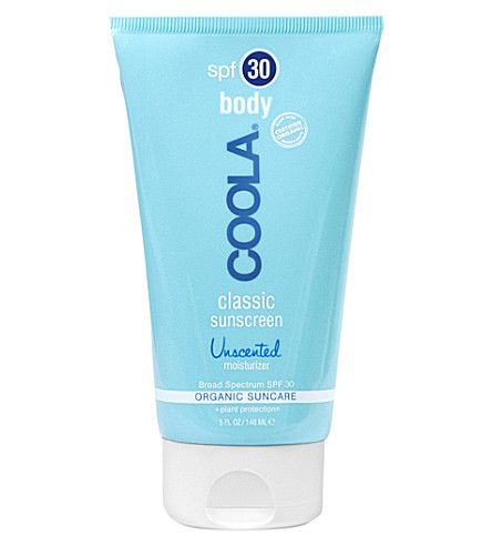 COOLA SUNCARE Classic sunscreen Body SPF 30 unscented 148ml