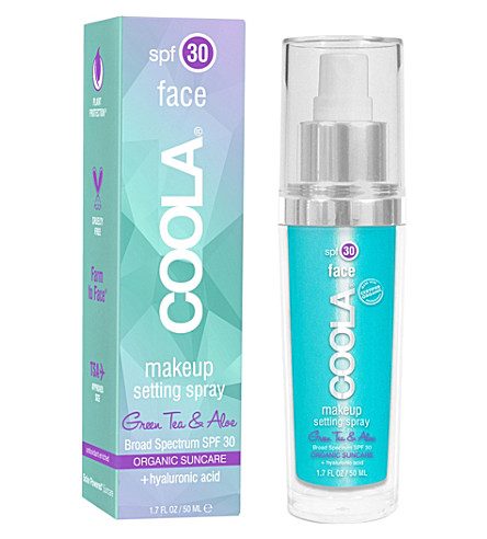 COOLA SUNCARE Face SPF 30 Makeup Setting Spray 50ml