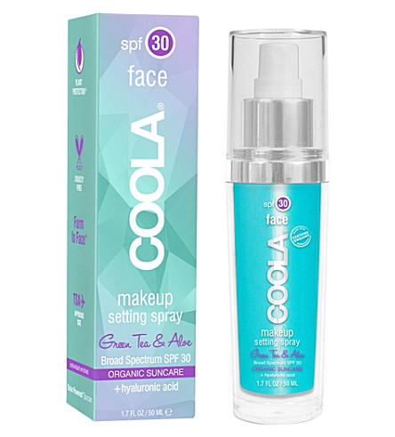 COOLA SUNCARE Face SPF 30 Makeup Setting Spray 50ml