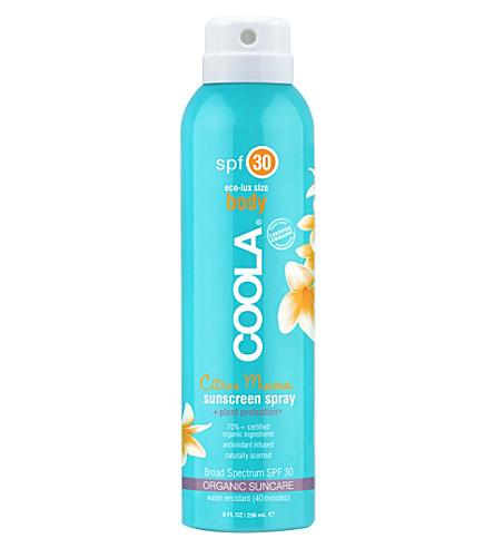 COOLA SUNCARE Eco-Lux SPF 30 mimosa sunscreen spray 237ml