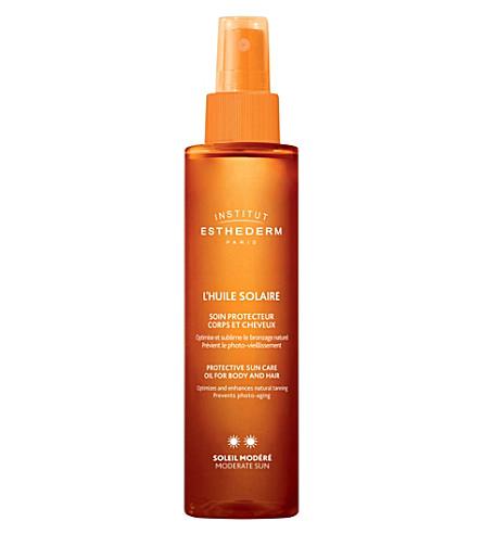 INSTITUT ESTHEDERM Protective sun care oil moderate exposure 150ml