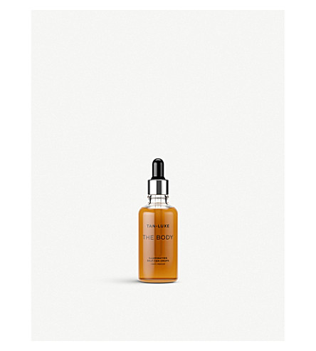 TAN-LUXE The Body Illuminating Self-Tan Drops 50ml (Light/medium