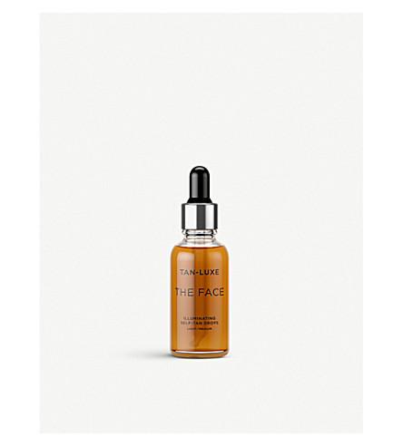 TAN-LUXE The Face Illuminating Self-Tan Drops 30ml (Light/medium