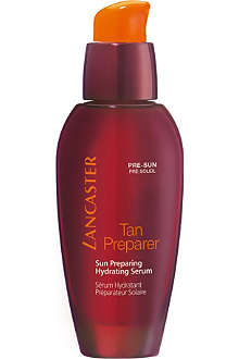 LANCASTER Tan Preparer Sun Preparing Hydrating serum 30ml