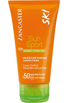 LANCASTER Sun Sport Ski wind & cold protection comfort cream SPF 50 50ml