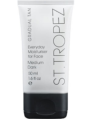 ST. TROPEZ Gradual Tan Everyday Face moisturiser - medium/dark