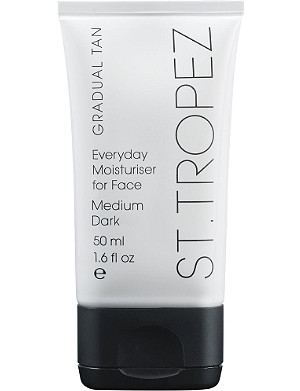ST. TROPEZ Gradual Tan Everyday Face moisturiser - medium/dark