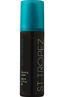 ST. TROPEZ Dark bronzing lotion 200ml