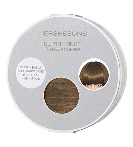 HERSHESONS The clip-in fringe (Blonde