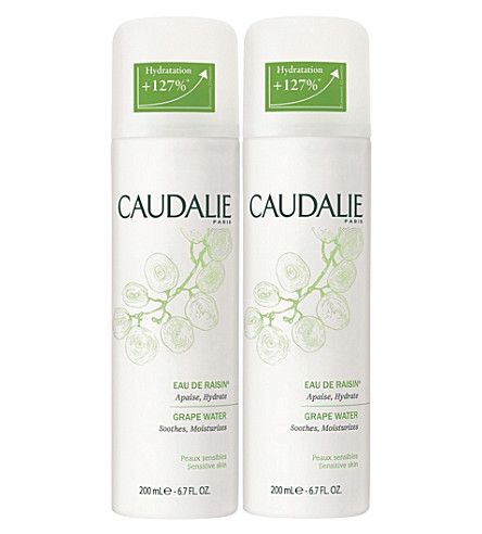 CAUDALIE Organic grape water 2 x 200ml