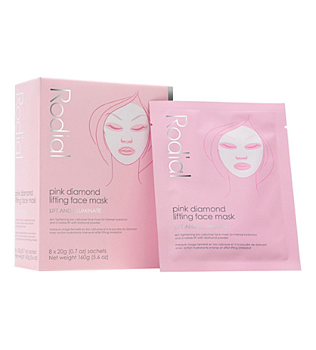 RODIAL Pink Diamond Instant Lifting Face Mask