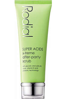 RODIAL Super Acids X-treme after-party scrub 75ml