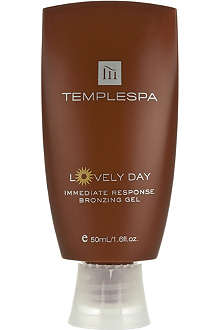 TEMPLE SPA Lovely Day bronzing gel 50ml