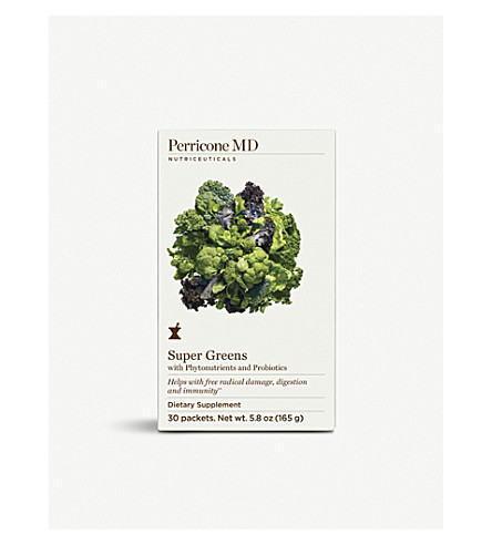 PERRICONE MD Super Greens dietary supplements 30 packets