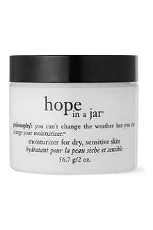 PHILOSOPHY Hope in a Jar – dry skin