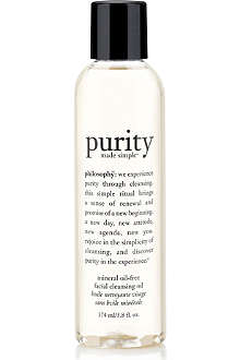 PHILOSOPHY Purity Made Simple oil–free cleansing oil
