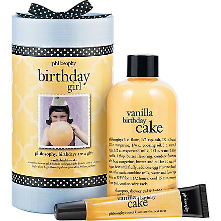 PHILOSOPHY Birthday girl gift set