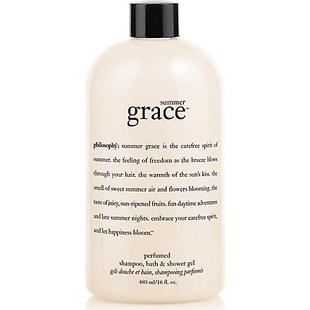 PHILOSOPHY Summer Grace shower gel 480ml
