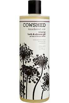COWSHED Knackered Cow relaxing bath & shower gel 500ml