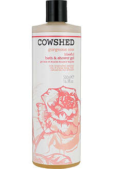 COWSHED Gorgeous Cow blissful bath and shower gel 500ml