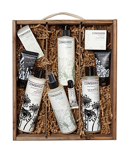 COWSHED Ulimate hamper exclusive to Selfridges