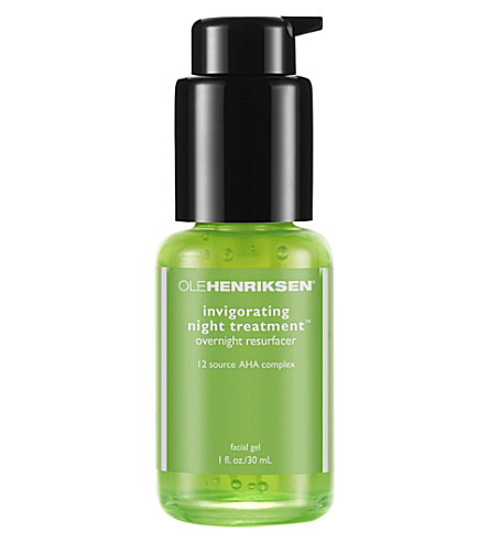 OLE HENRIKSEN Invigorating Night Treatment overnight resurfacer 30ml