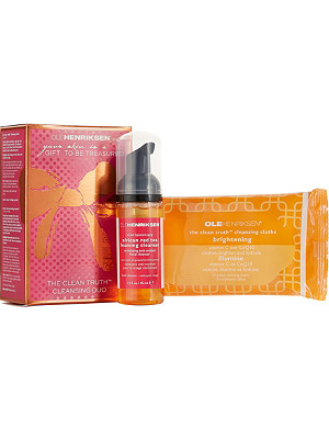 OLE HENRIKSEN Clean Truth cleansing duo holiday kit
