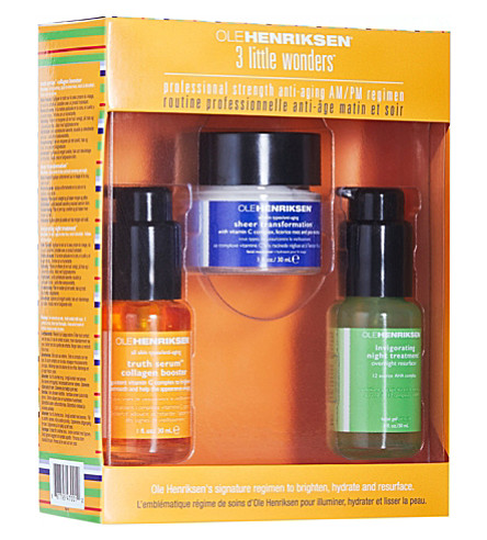 OLE HENRIKSEN Three little wonders anti-ageing kit