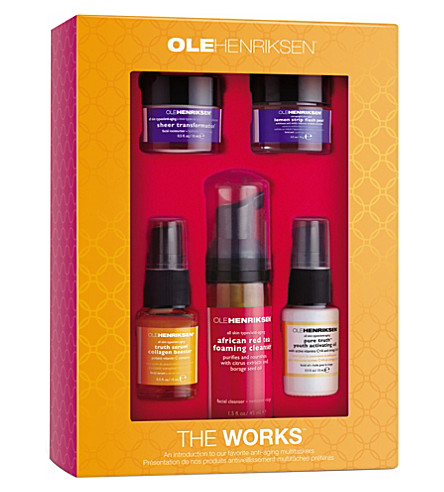 OLE HENRIKSEN The Works kit