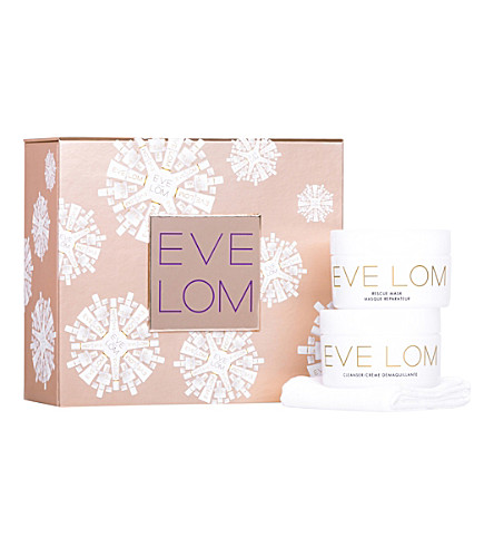 EVE LOM Rescue Ritual cleansing and mask kit