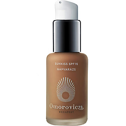 OMOROVICZA Sunkiss tan booster SPF 15